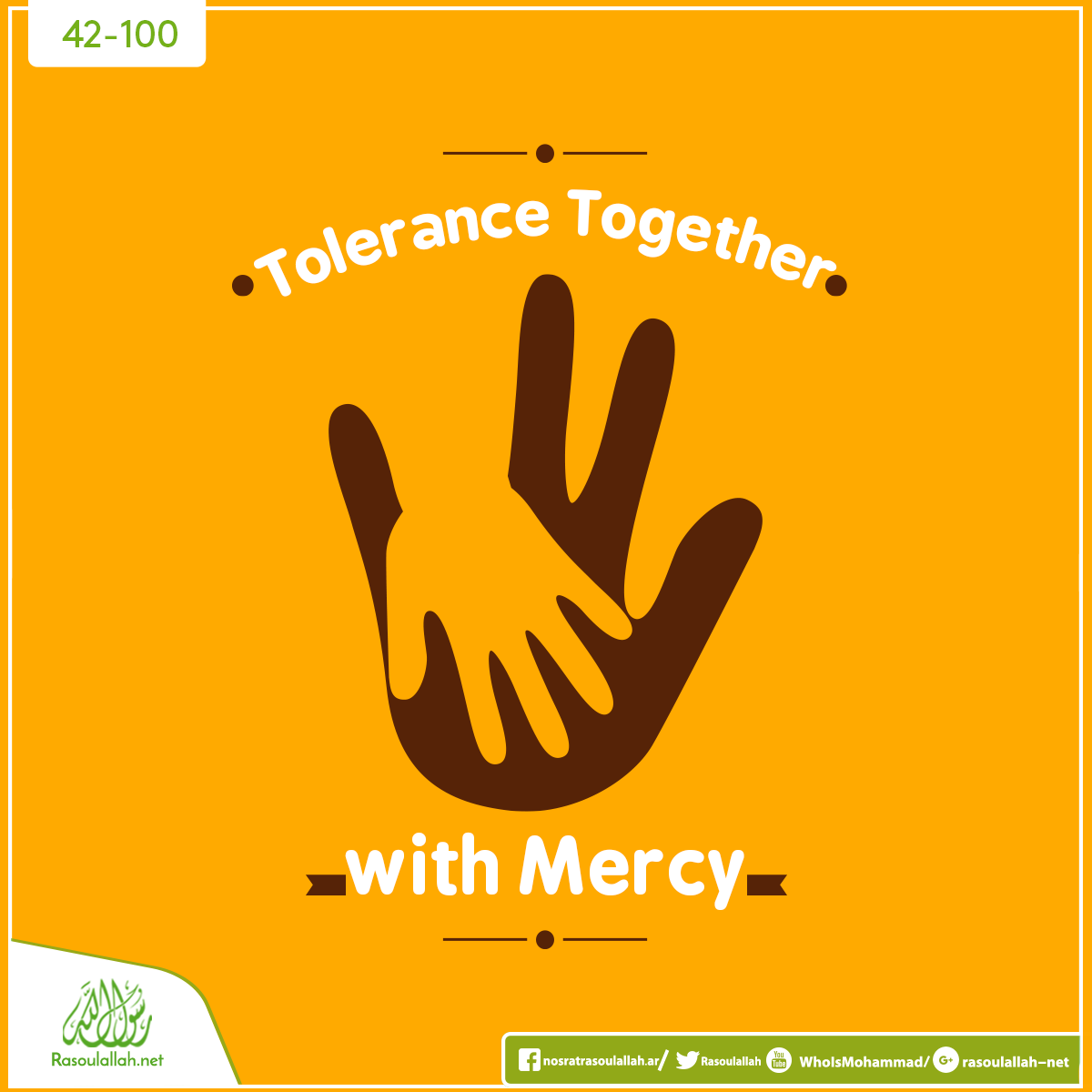 Tolerance Together With Mercy