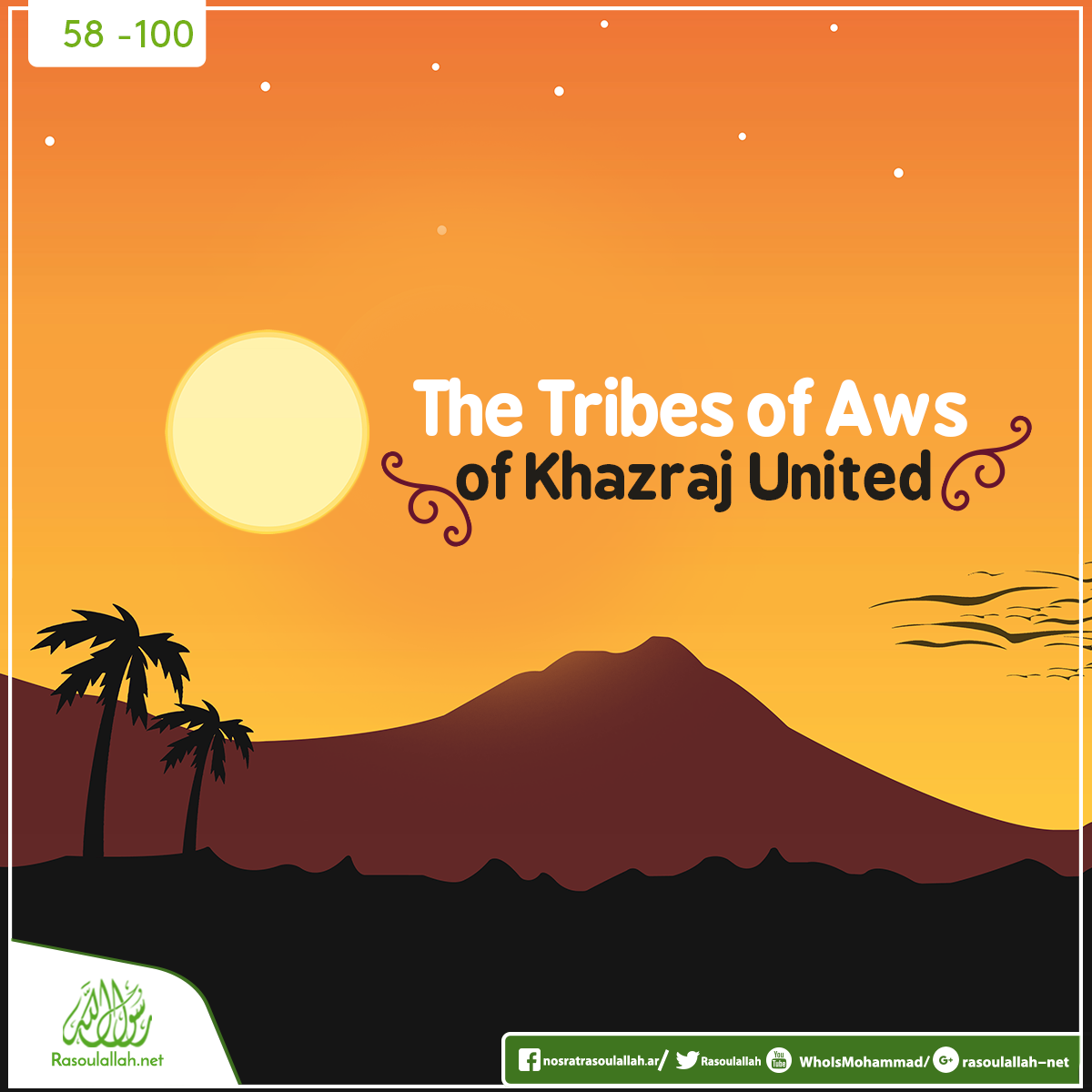 The Tribes of Aws and Khazraj United